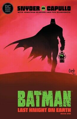 Batman Last Knight On Earth #1 Cover A