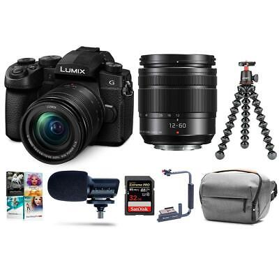 Panasonic Lumix DC-G95 Mirrorless with 12-60mm OIS Lens With Accessory Bundle