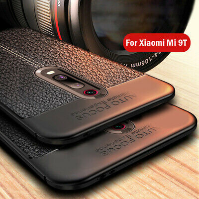For Xiaomi Mi 9T Pro 9 SE Redmi K20 Shockproof Soft TPU Leather Back Case Cover