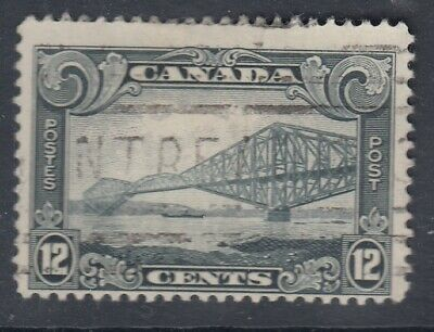 "Canada Scott #156 12 cent Quebec Bridge ""Scroll""  F *"