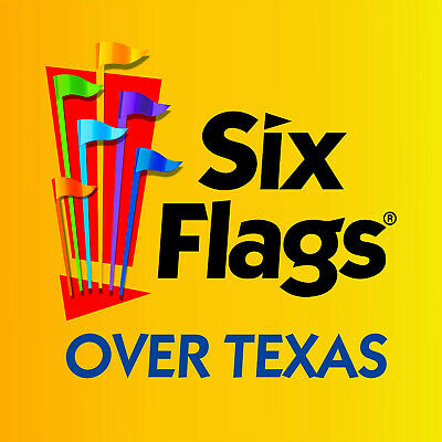 SIX FLAGS OVER TEXAS Child Youth Ticket Arlington, TX