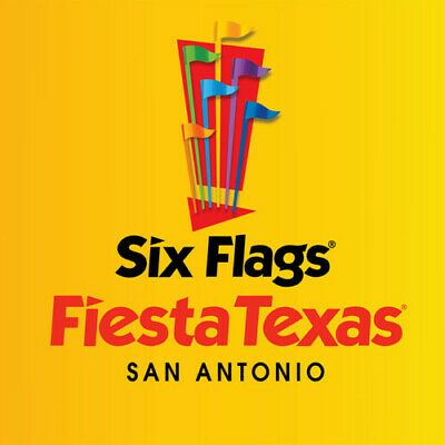 SIX FLAGS FIESTA TEXAS Child Youth Ticket San Antonio, TX
