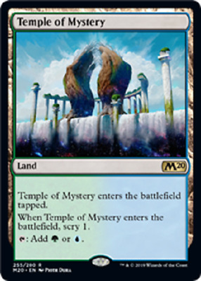 MTG Magic: the Gathering CORE 2020 TEMPLE OF MYSTERY RARE