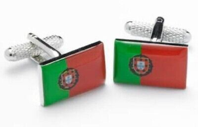 Amadora City Portugal Flag Tie Clip Engraved in Pouch