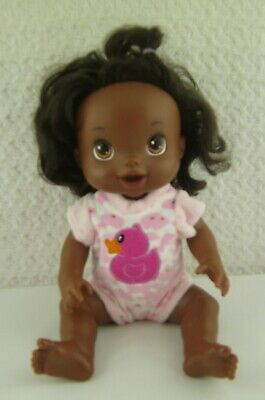"""Doll Clothes Handmade Velour Pink Cammo Duck Outfit 13"""" fits Baby Alive"""