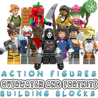 Action Figures Building Blocks Overwatch Fortnite New Toys 2019 Video Games