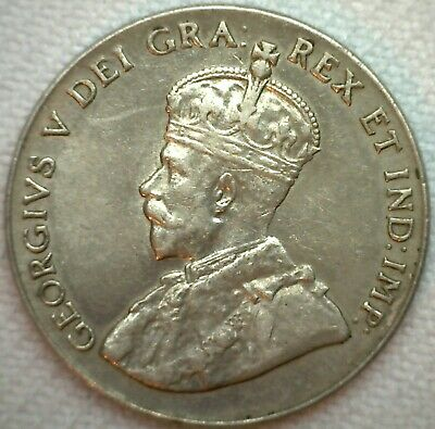 1928 Canada Nickel 5c Canadian Coin KM #29 AU Almost UNC Five Cents K31
