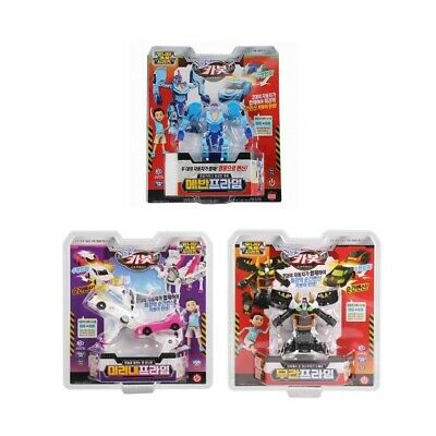 Hello Carbot Unity Carbot Prime Series Transforming Action Figure Robot Toy 3Pcs