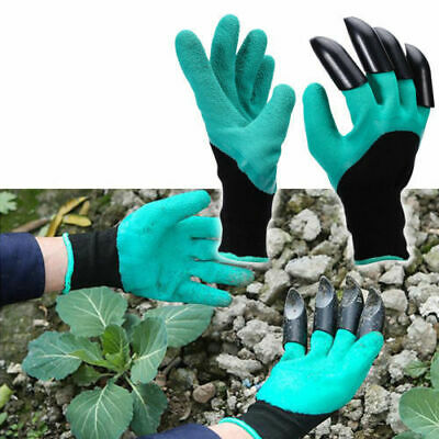 Garden Genie Gloves Mens & Womens, Waterproof with Claws on Right OR Left Hand.