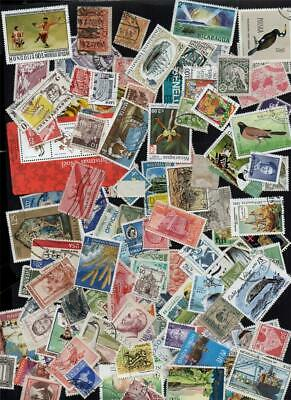 ALL  WORLD  MIX  400 gms  THOUSANDS of stamps off paper From charity collections