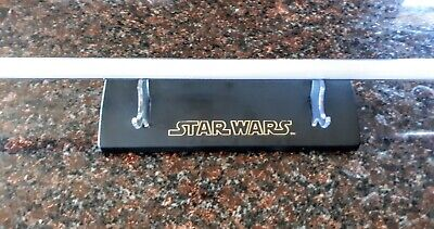 Master Replicas Lightsaber Stand and Blade Only For Kit Fisto Lightsaber