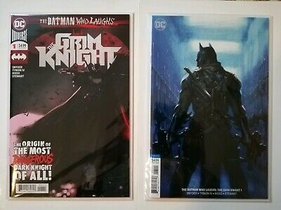 Batman Who Laughs The Grim Knight # 1 Dc Comics Cover A & B Nm New