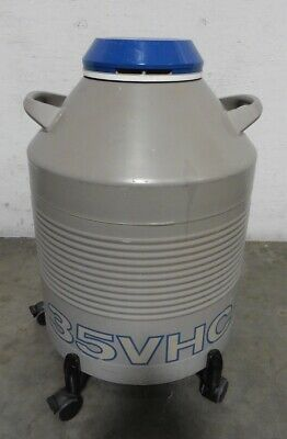 G160289 Taylor Wharton 35VHC Liquid Nitrogen Container, 3 Canisters, Roller Base