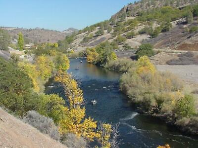 KLAMATH RIVER 1 full acre. N California!  POWER, paved, phone! HIGH BID WINS!