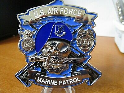 USAF SECURITY FORCES Custom Challenge Coin - US Air Force AP