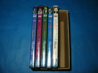 The Judy Garland Show Collection, Christmas,  5 DVDs no book, no index