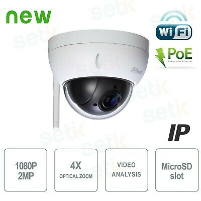 SD22204T-GN-W - Telecamera Dahua 2MP Full HD WiFi PTZ Dome - SD22204T-GN-W