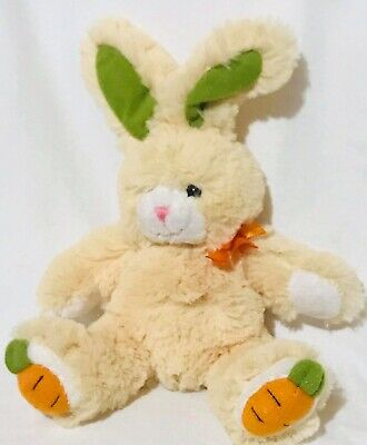 Cute March of Dimes Beenie Easter Bunny Rabbit Carrot Feet Plushland