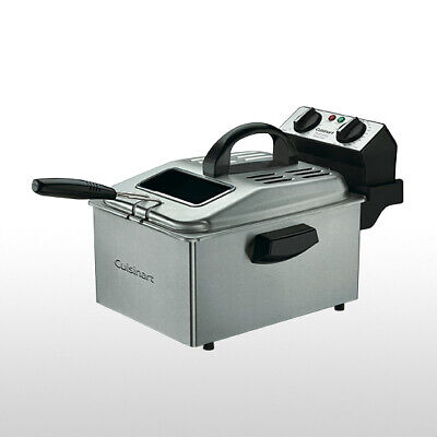 Cuisinart 4L Deep Fryer Brushed Stainless Steel
