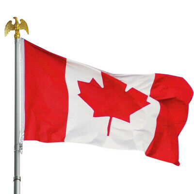3x5 FT National Canada Canadian Flag Maple Leaf Banner Polyester Grommets New