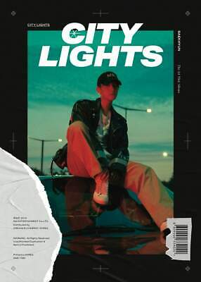 EXO Baekhyun-[City Lights]1st Mini Night CD+2p Poster+PhotoBook+Lyric+Card+Gift