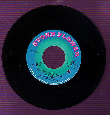 Little Sister Somebody's Watching You / Stanga 45 RPM ATCO Records KA577 1970