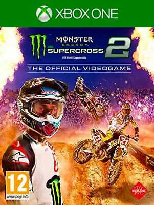 Monster Energy Supercross: The Official Videogame 2 Xbox One PEGI KOCH MEDIA