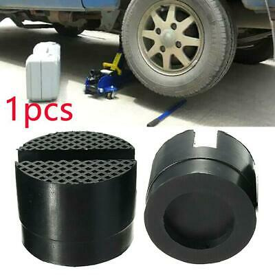 1pcs Car Slotted Frame Rail Floor Jack Adapter Lift Rubber Pad Stand Holder