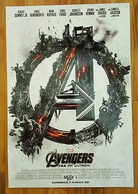 MARVEL STUDIOS AVENGERS: AGE OF ULTRON MARVEL Exclusive IMAX Promo Mini Poster