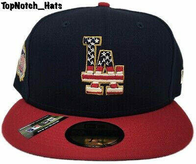 0ca975184 LOS ANGELES DODGERS New Era 59FIFTY Baseball MLB July 4th Stars ...