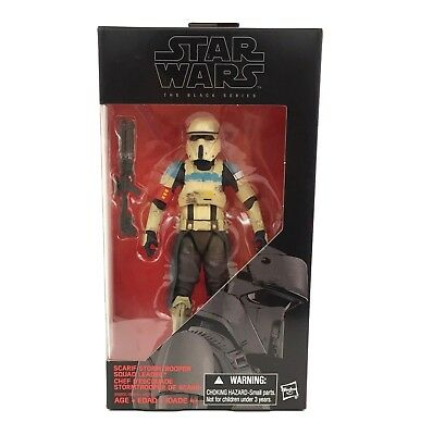 Star Wars The Black Series Scarif Stormtrooper Squad Leader 6 Inch Action Figure