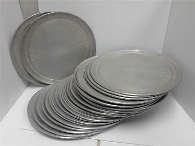 "29 American Metal Aluminum Pizza Trays 14"" Used Good Shape"