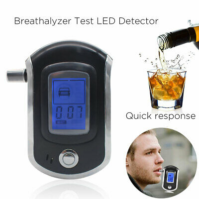 Professional Police Digital Breath Alcohol Tester Breathalyzer with LCD Dispaly