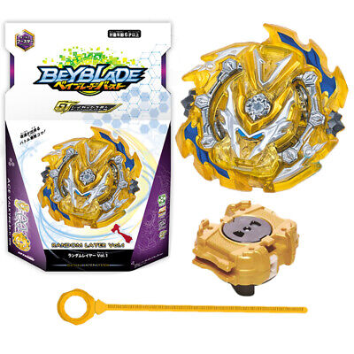 Yellow Beyblade Burst GT B-143 Booster Ace Valkyrie With Launcher Box Kids Gifts