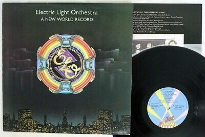 ELECTRIC LIGHT ORCHESTRA A NEW WORLD RECORD JET 25AP 1096 Japan VINYL LP