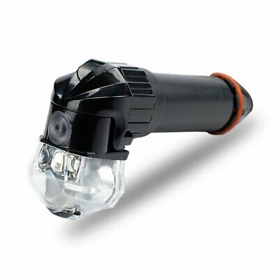 Handle Bar Plugs LED Weaponized Flashing Bar End Lights