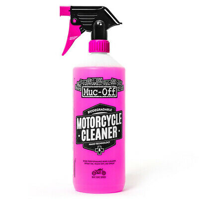 Muc-Off Nano Tech Motorcycle Cleaner - 1 Litre Muc-Off 1 Litre Capped with Trigg