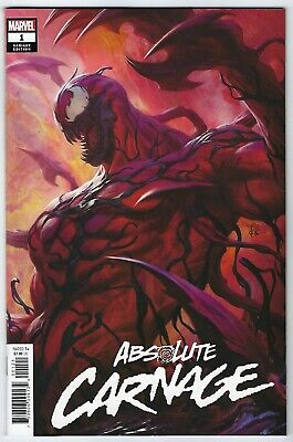 Absolute Carnage # 1 Artgerm Variant NM Marvel