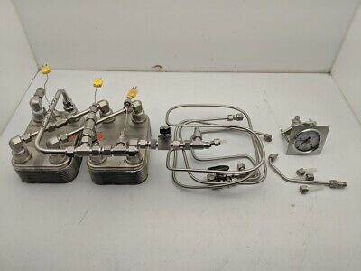 Swagelok Fittings, Pipe and 2x GEA NP 3-20 Heat Exchanger Lot Free Ship