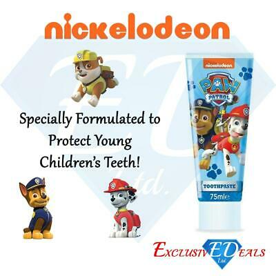 Paw Patrol 75ml Toothpaste - Nickelodeon - Fruity Flavour