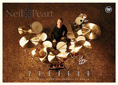 RUSH-Limited Edition-Neil Peart-Sabian Cymbals Promotional Print