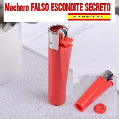 MECHERO Escondite SECRETO Color ROJO  REBAJADO ¡!!