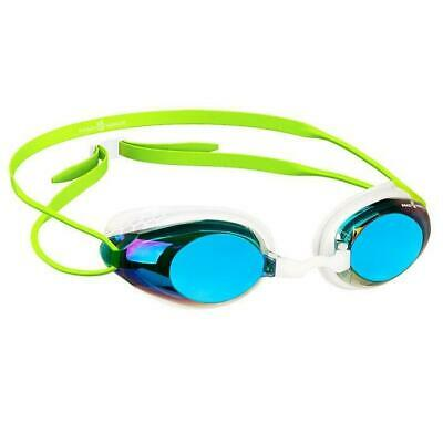Mad Wave Honey Rainbow Mirrored Goggles - Green