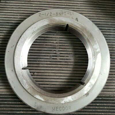 Precision Ring Gage 2 1/2 Inch NPT