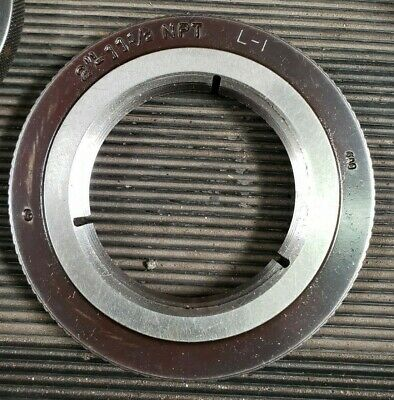 Precision Ring Gage 2 Inch NPT