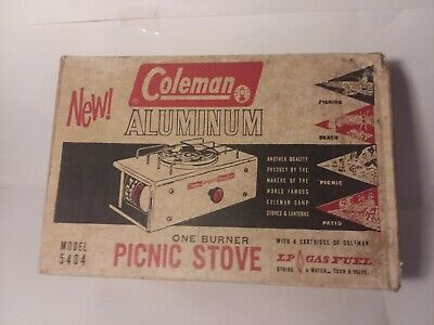 LOT OF 2 Vintage Coleman Camp Stoves Model 502 For Parts Or