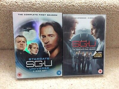 Stargate Universe Seasons 1-2 Box Set Excellent Complete Series