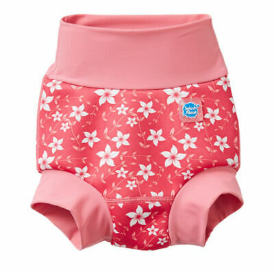 Splash About Happy Nappy - Reusable Baby Neoprene Swim Nappy. 3-6 months.