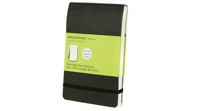 Moleskine soft, Pocket Size, Plain Reporter Notebook black