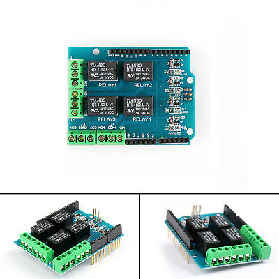 Four Channel Relay Shield 5V 4 Channel Relay Shield Module For Arduino UE